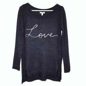 LC (NWT) Love Sweater